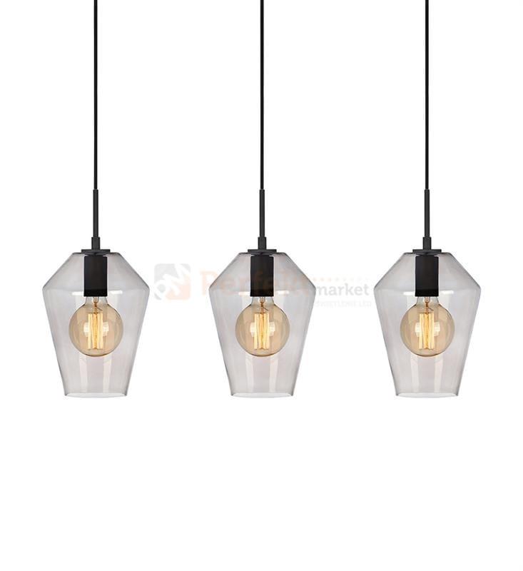 Lampa Wisząca Szklana Retro Markslojd 107132 Czarna