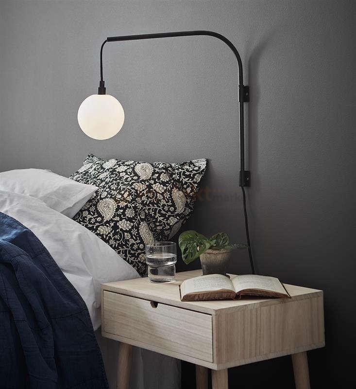 lampka do czytania na ścianę