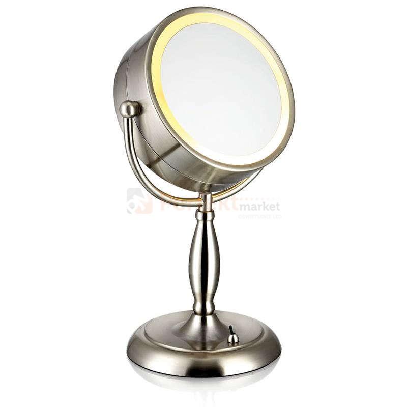 Lampa Stołowa Lustro Do Makijażu Face Markslojd Regulowana 105237 Chrom
