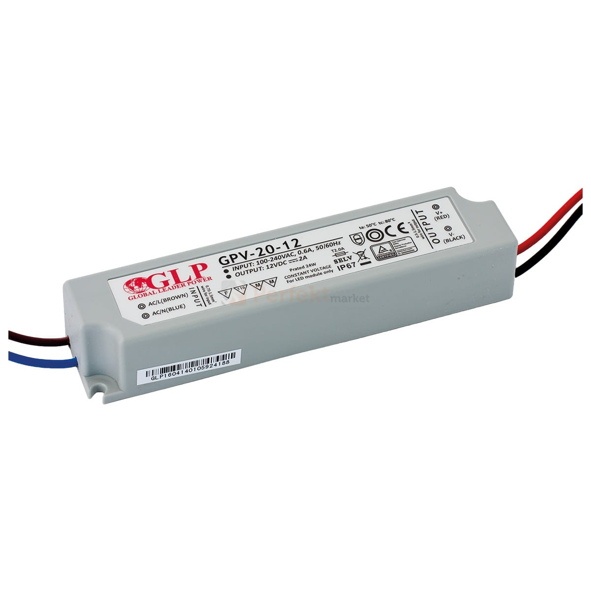 Zasilacz Led 24w Ip67 Gpv 20 12