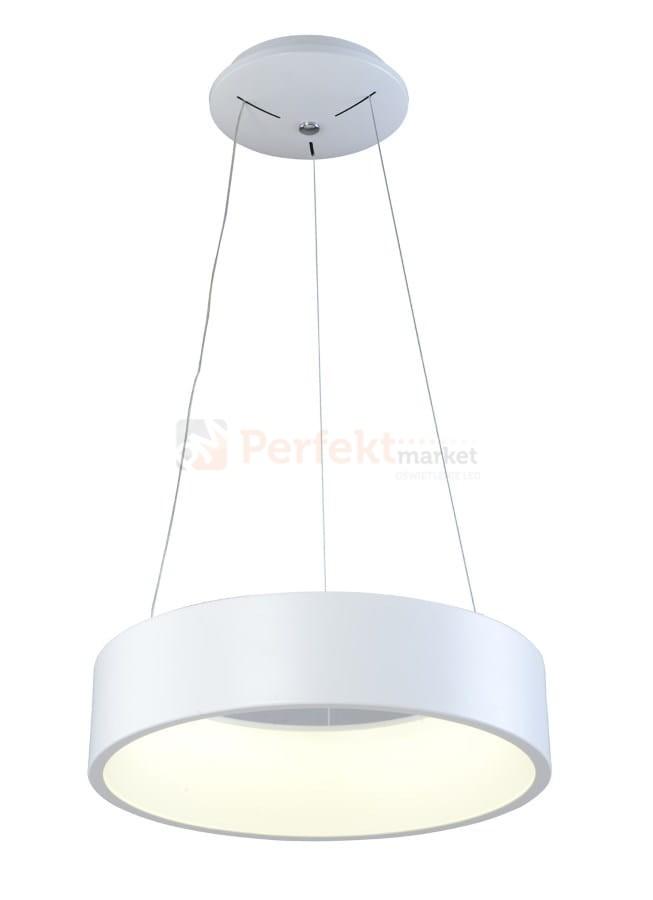 Lampa wisząca ring LED biała PULSANO PENDANT 37W