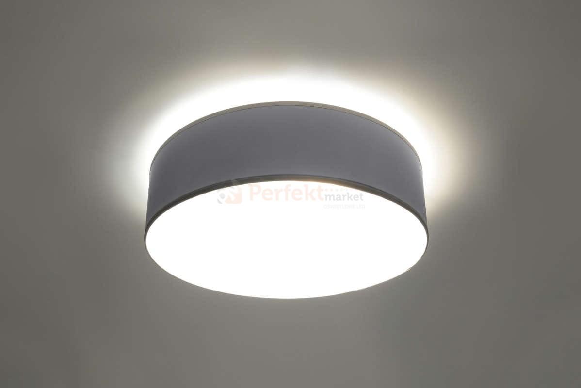 lampy sufitowe okrągłe plafon arena 45biały led cena 249 złoty