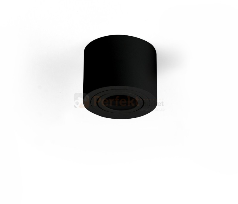 Oprawa Halogenowa Ruchoma Spot Crosti Sasari 90 Tuba Czarna