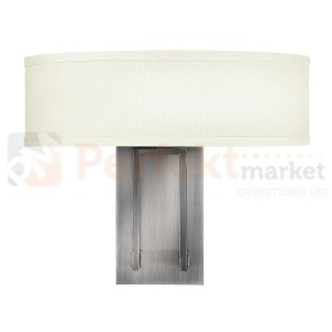 Kinkiet HAMPTON HK/HAMPTON2 srebrny Elstead Lighting