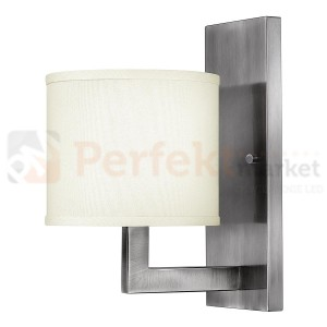Kinkiet HAMPTON HK/HAMPTON1 srebrny Elstead Lighting