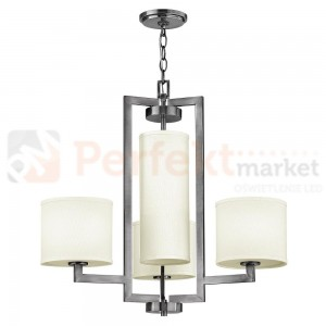Lampa wisząca HAMPTON HK/HAMPTON4 srebrna Elstead Lighting